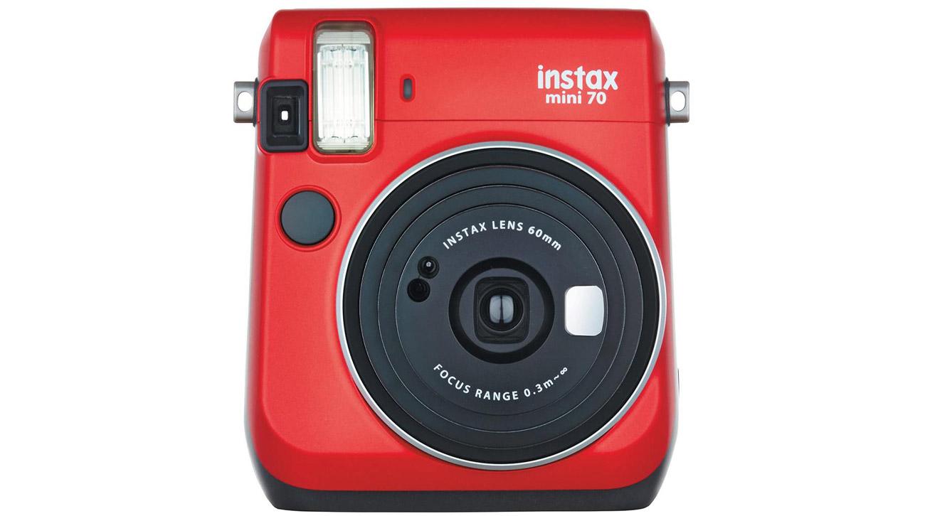 Instax Mini 70 czerwony