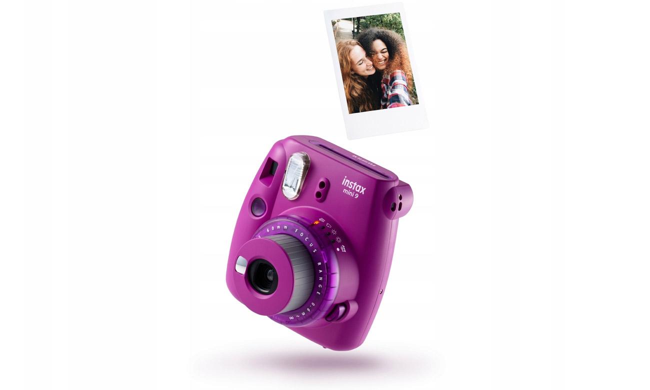 Aparat natychmiastowy Fujifilm Instax Mini 9 purpurowy