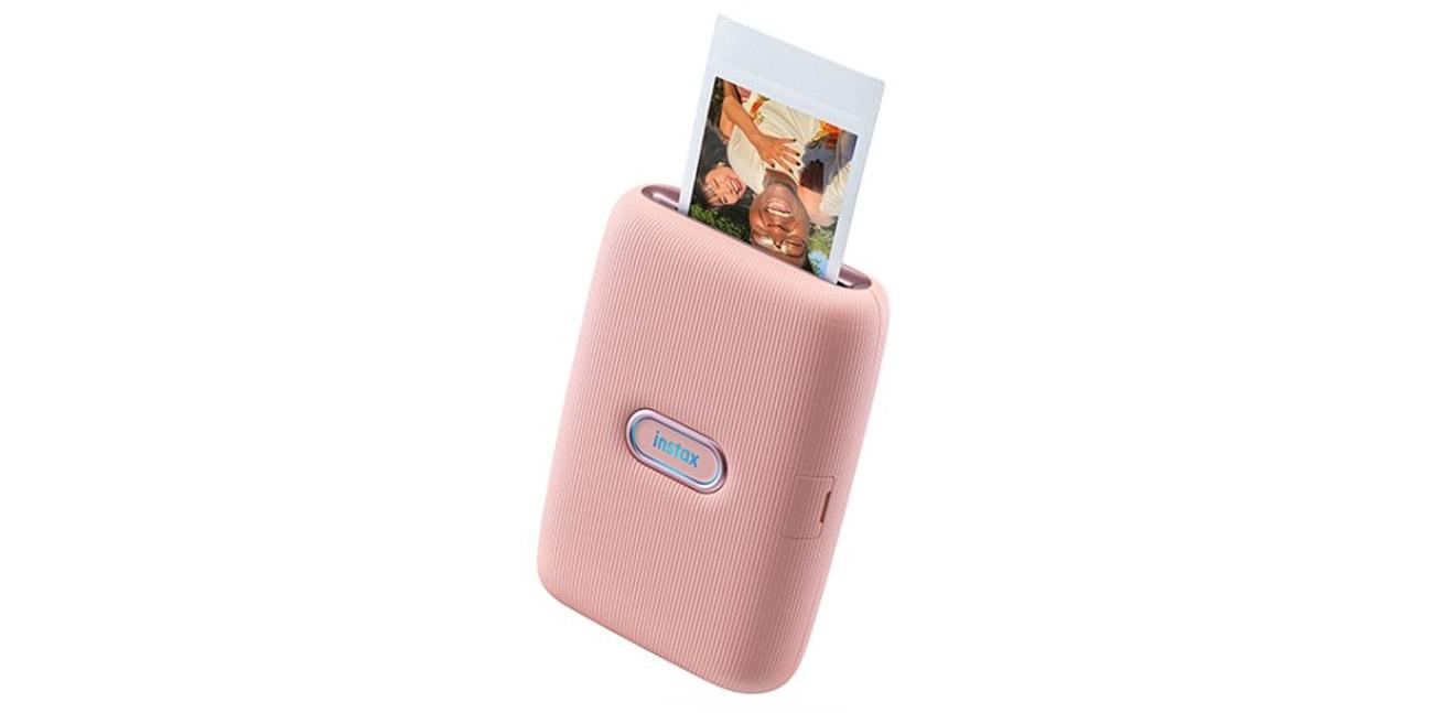 Drukarka termosublimacyjna Instax Mini Link różowa