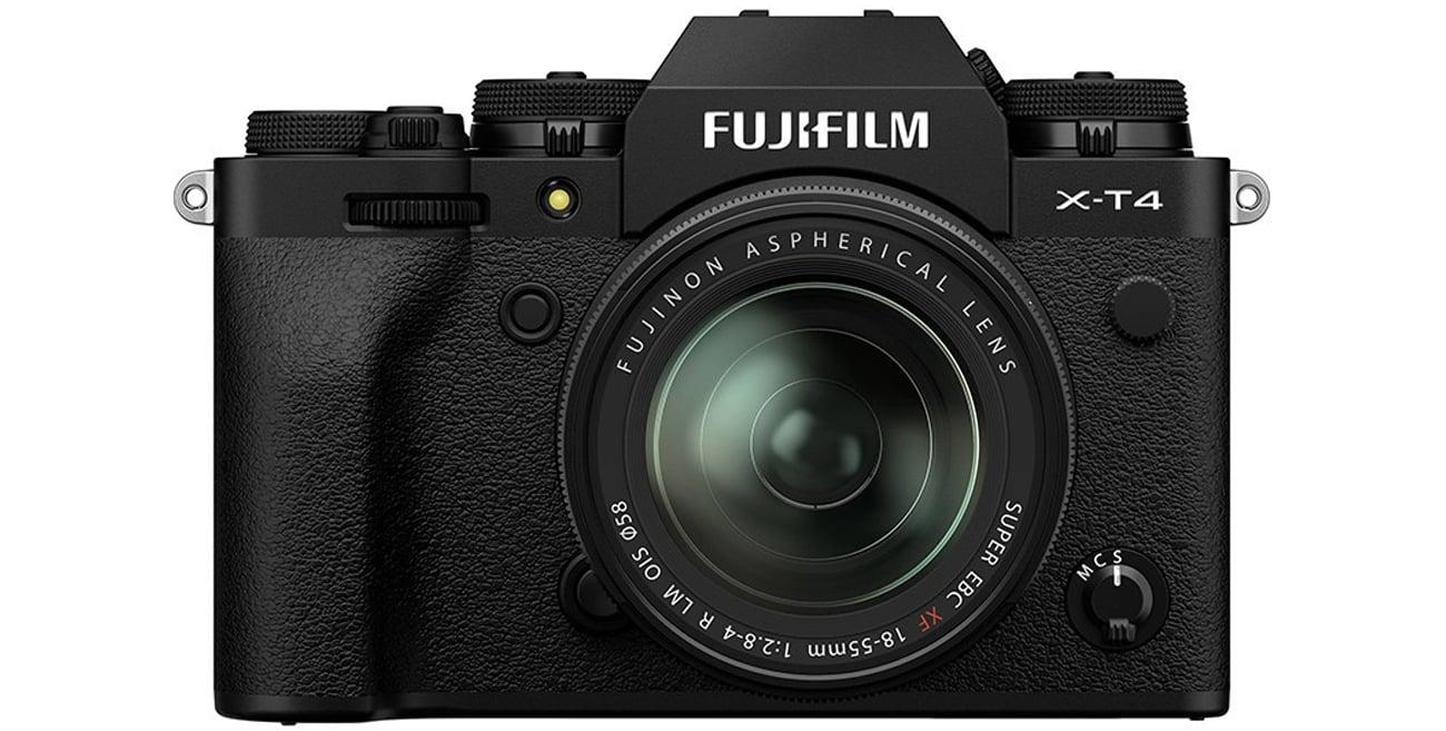 Aparat do zdjęć profesjonalnych Fujifilm X-T4 + 18-55mm