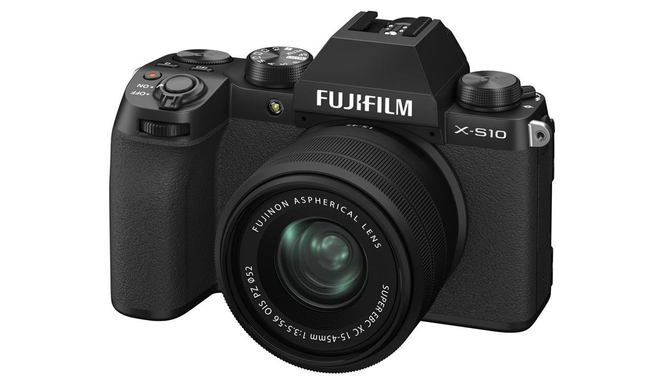Aparat do zdjęć profesjonalnych Fujifilm X-S10 + XC 15-45mm