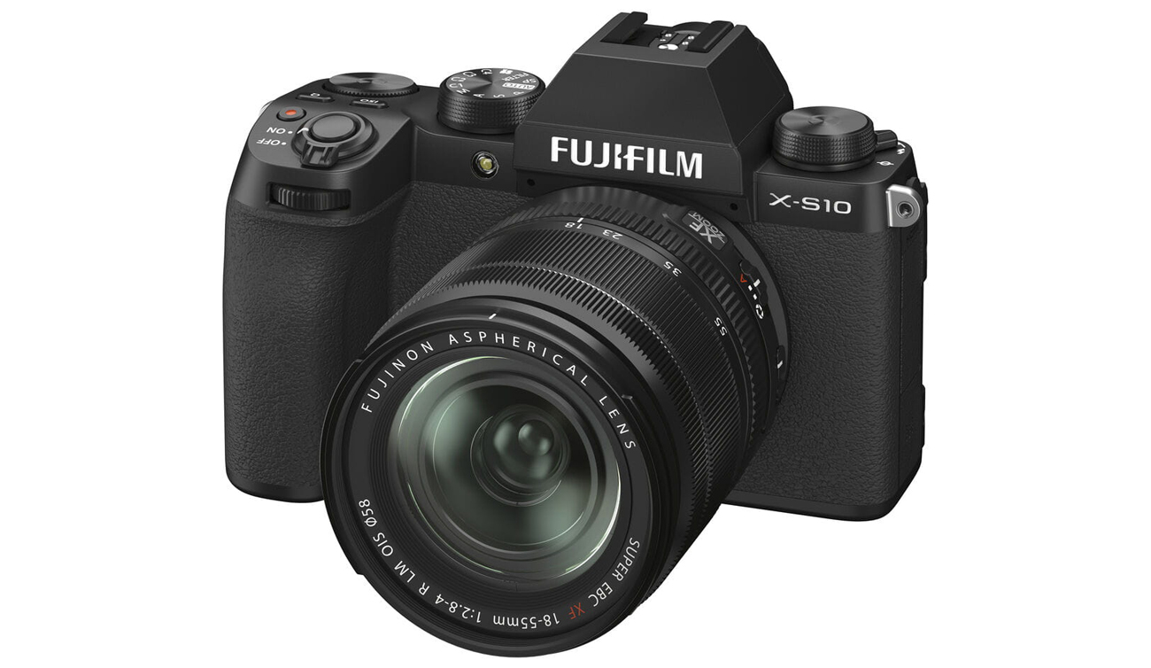 Aparat do filmowania Fujifilm X-S10 + XF 18-55mm