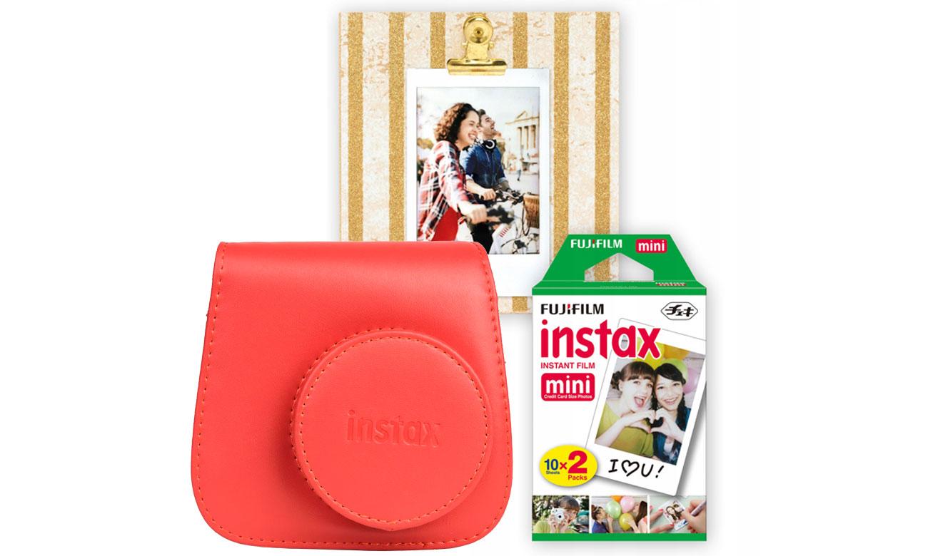 Aparat natychmiastowy Fujifilm Instax Mini 9 czerwony