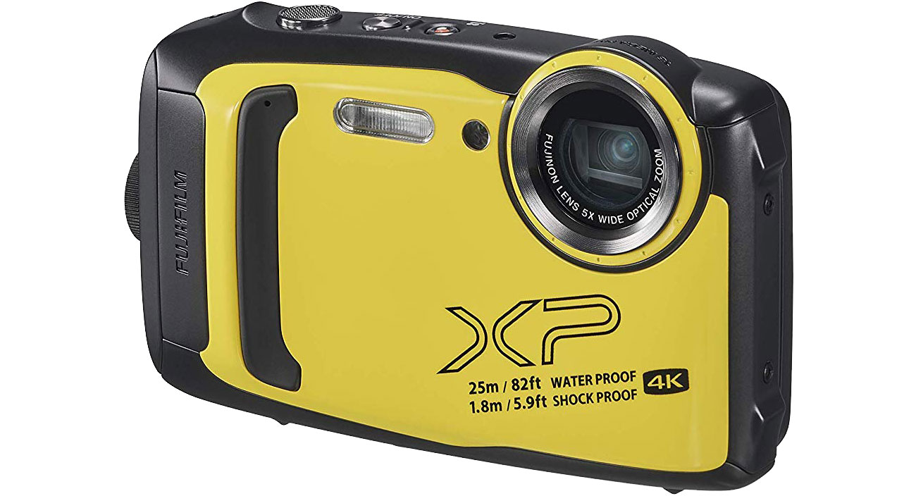 Aparat kompaktowy Fujifilm FinePix XP140 żółty