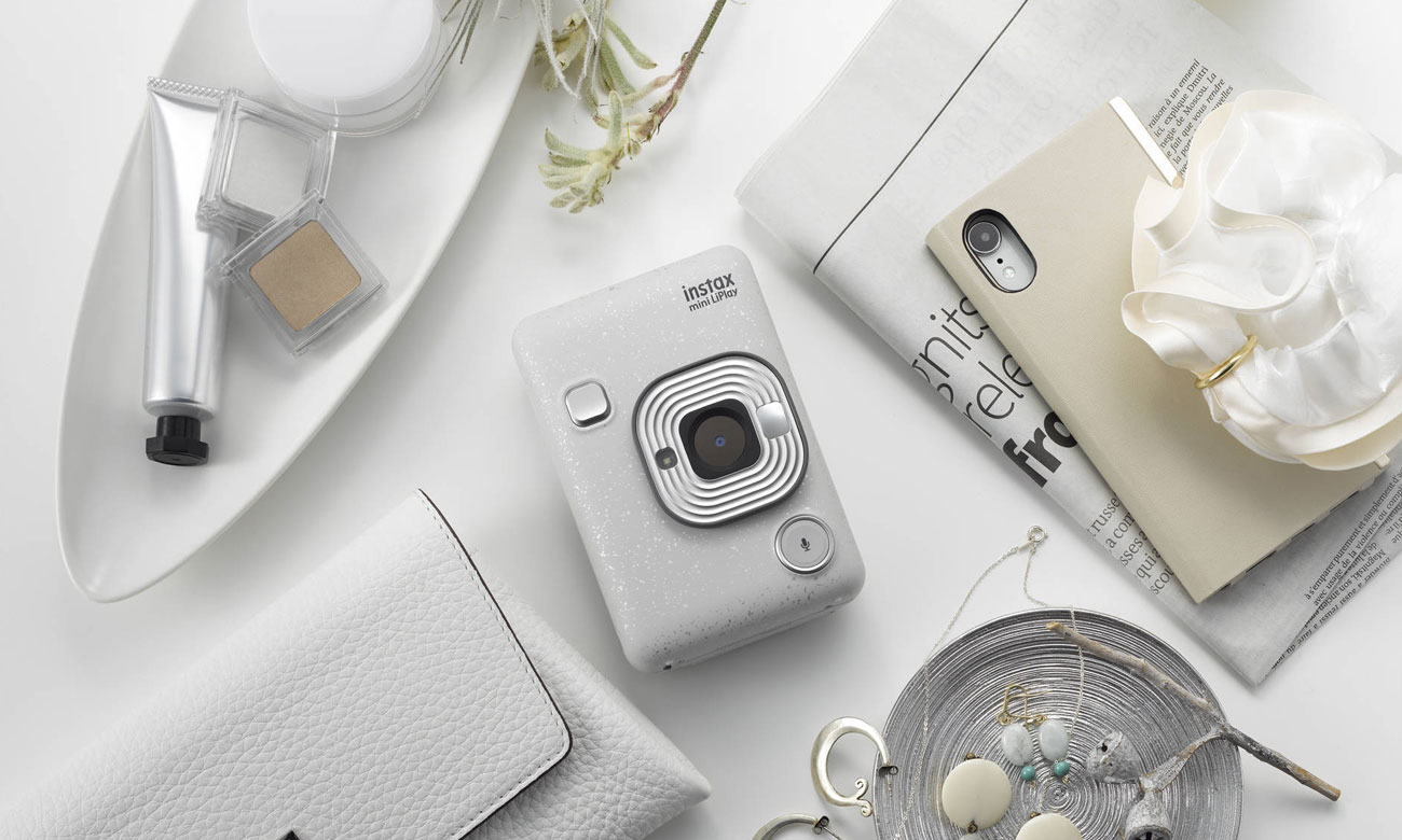 Fujifilm INSTAX Mini LiPlay biały