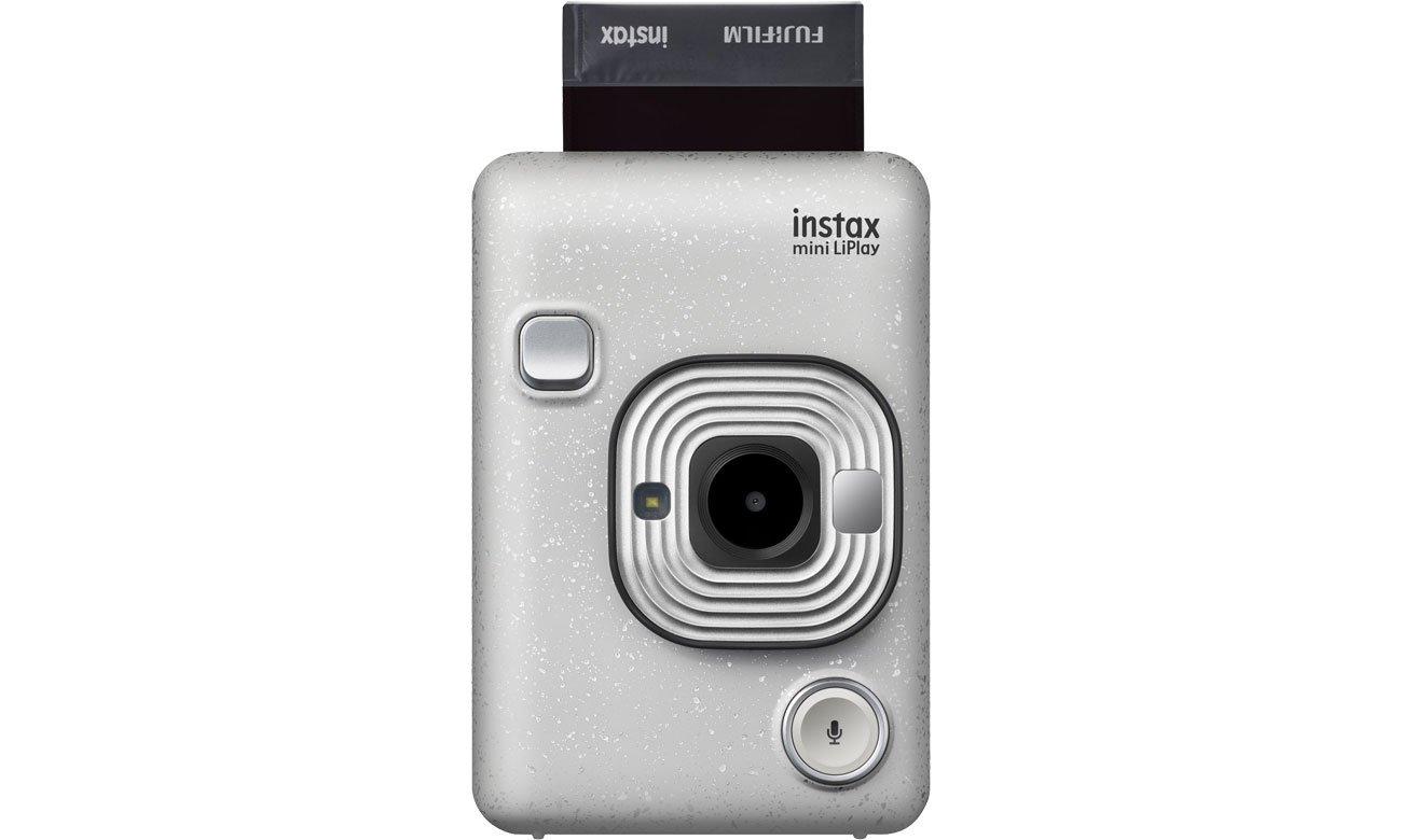 Fujifilm INSTAX Mini LiPlay biały - Nagrywanie dźwięku