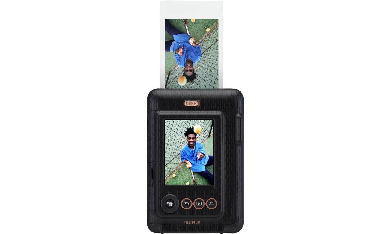 Fujifilm INSTAX Mini LiPlay czarny - Drukowanie zdjęcia
