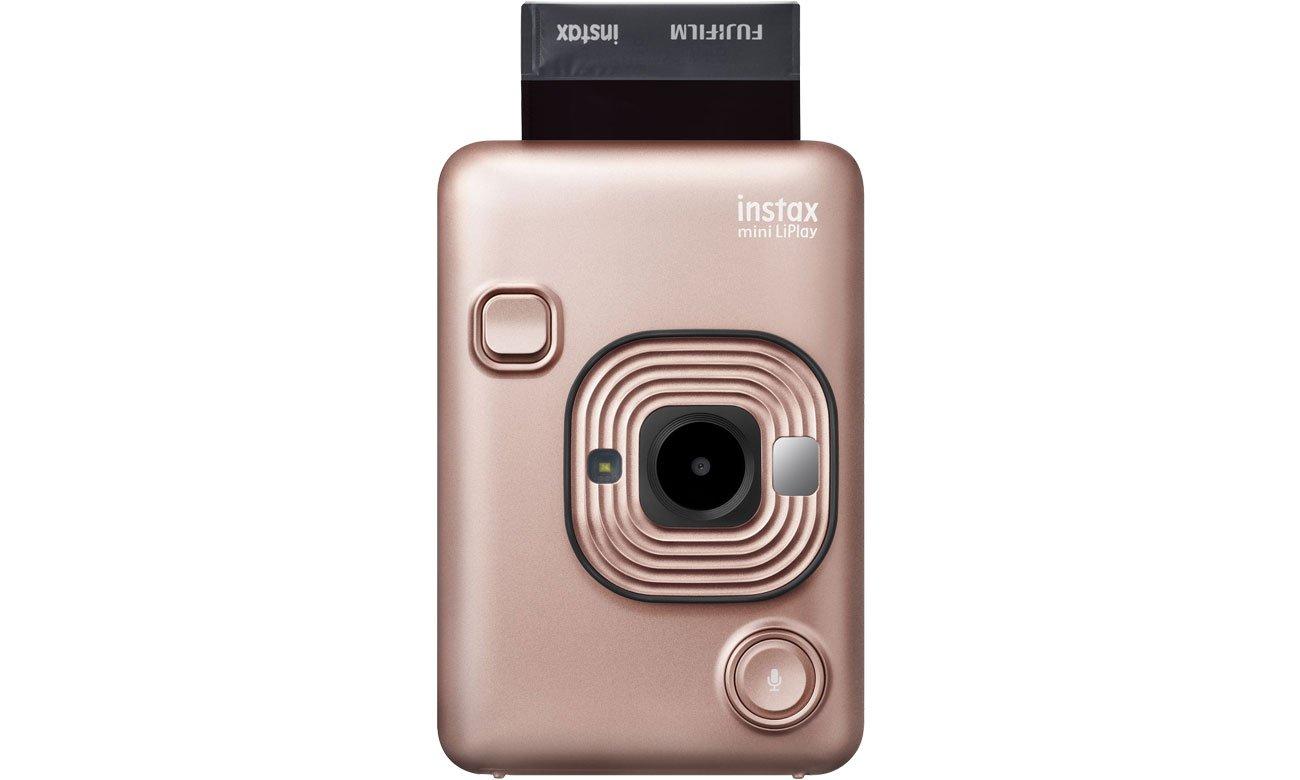 Fujifilm INSTAX Mini LiPlay czarny - Nagrywanie dźwięku