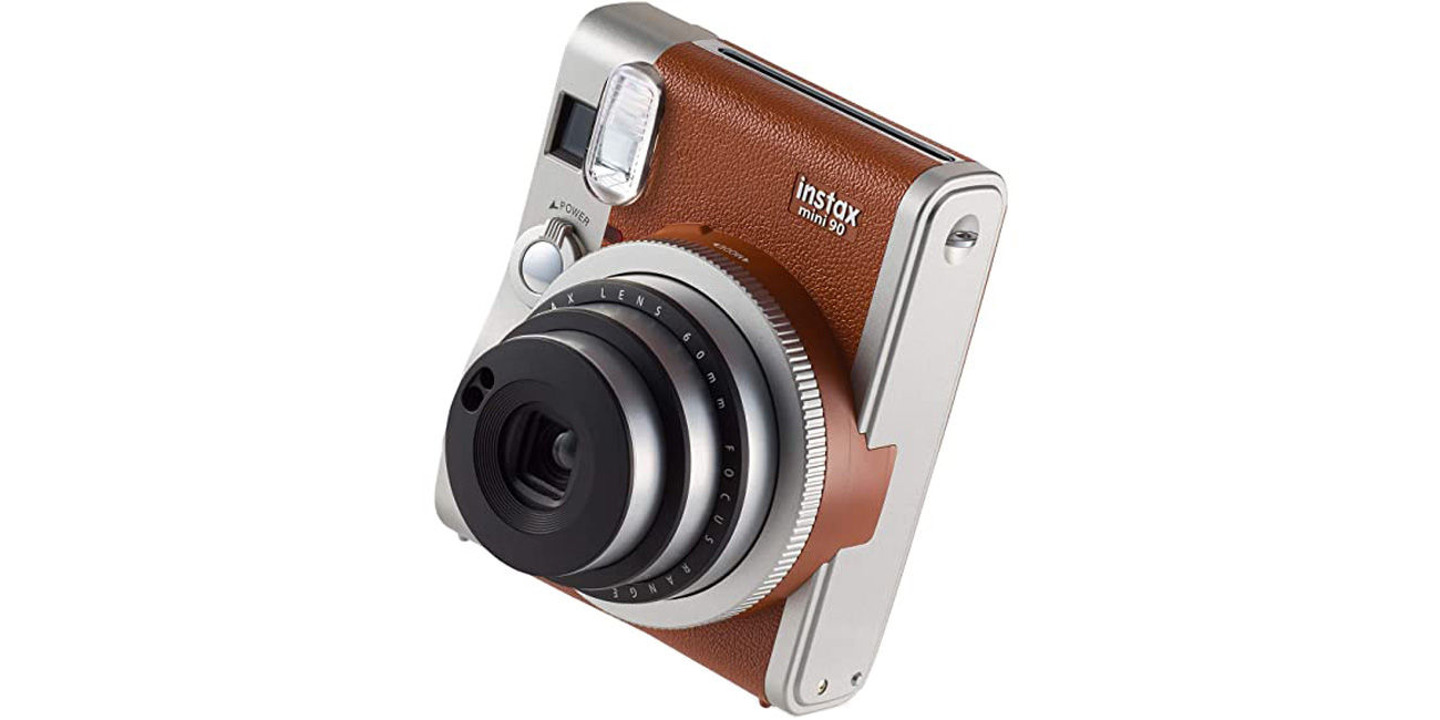 Kompaktowy aparat natychmiastowy Fujifilm Instax Mini 90 brązowy