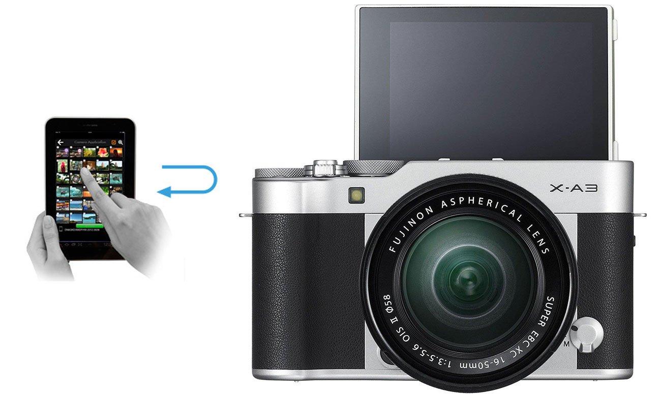 Fujifilm X-A3  Wbudowany Moduł Wi-Fi
