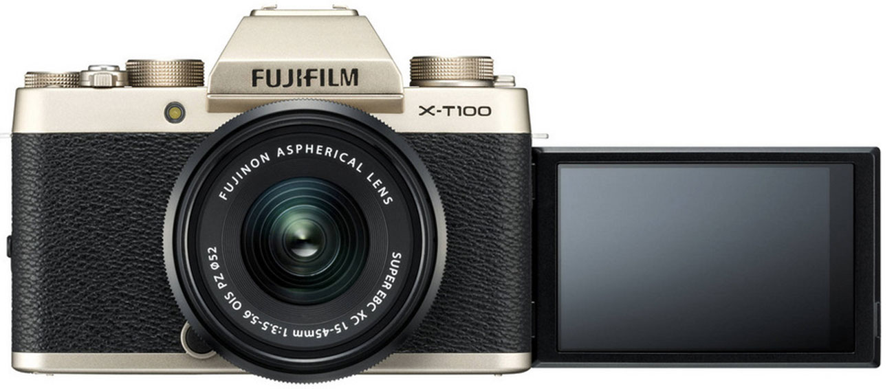 Fujifilm X-T100 gold Body