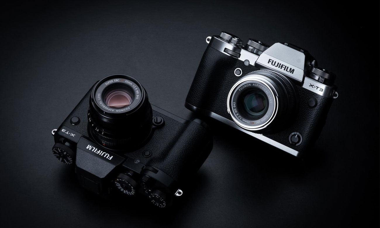Fujifilm X T3 dwa kolory