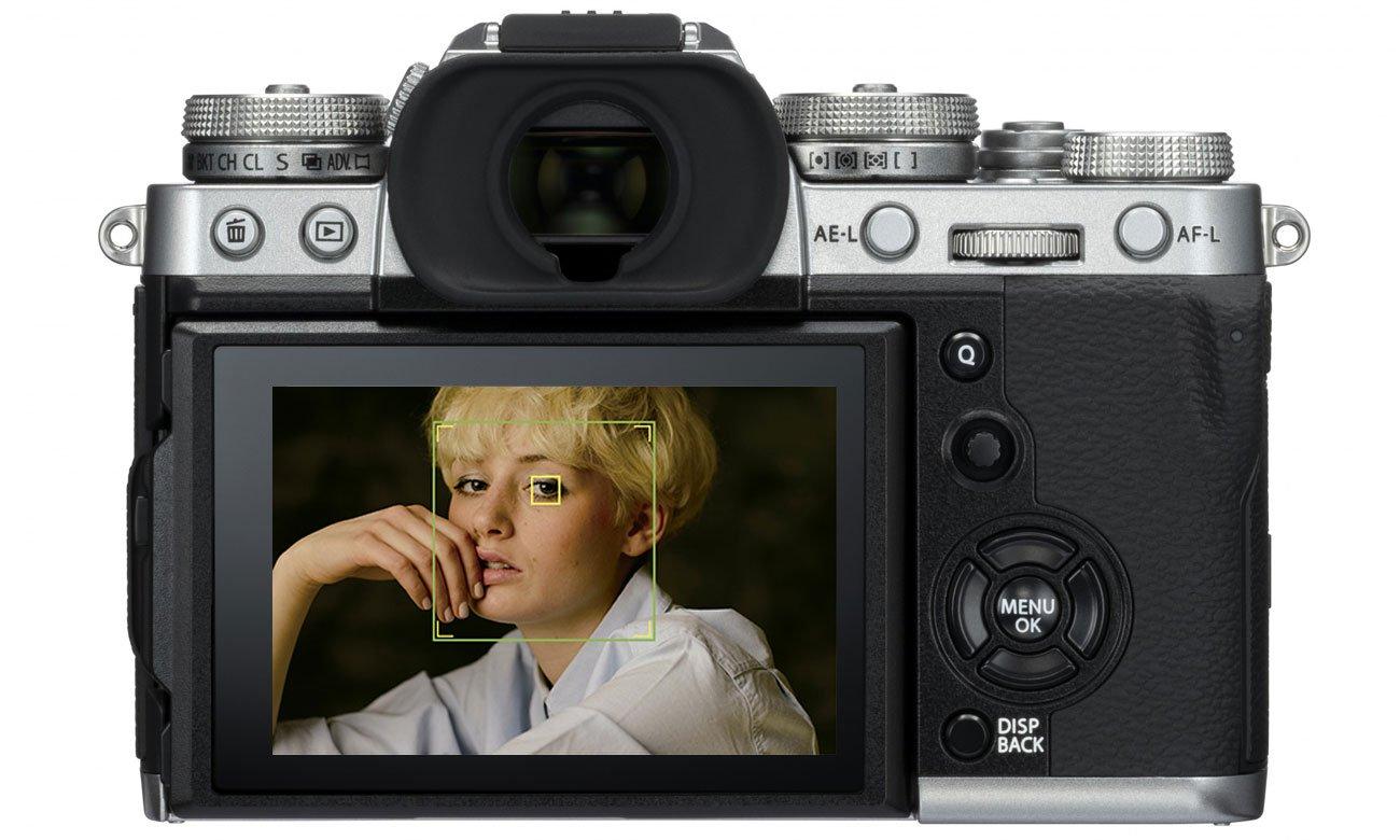 Fujifilm X T3 body widok na ekran LCD