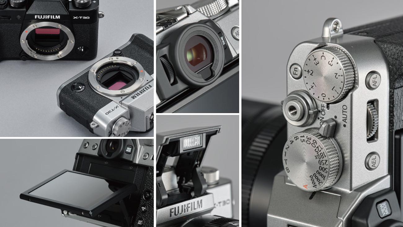 Fujifilm X-T30 Kompaktowy Rozmiar