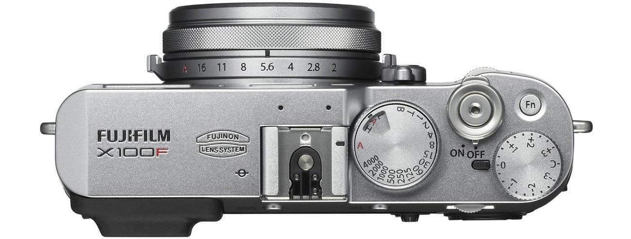 Bezlusterkowiec Fujifilm X100F Widok Z Góry