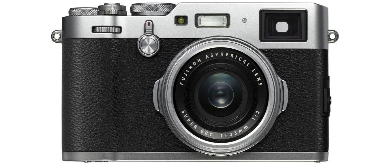 Bezlusterkowiec Fujifilm X100F Widok Z Przodu