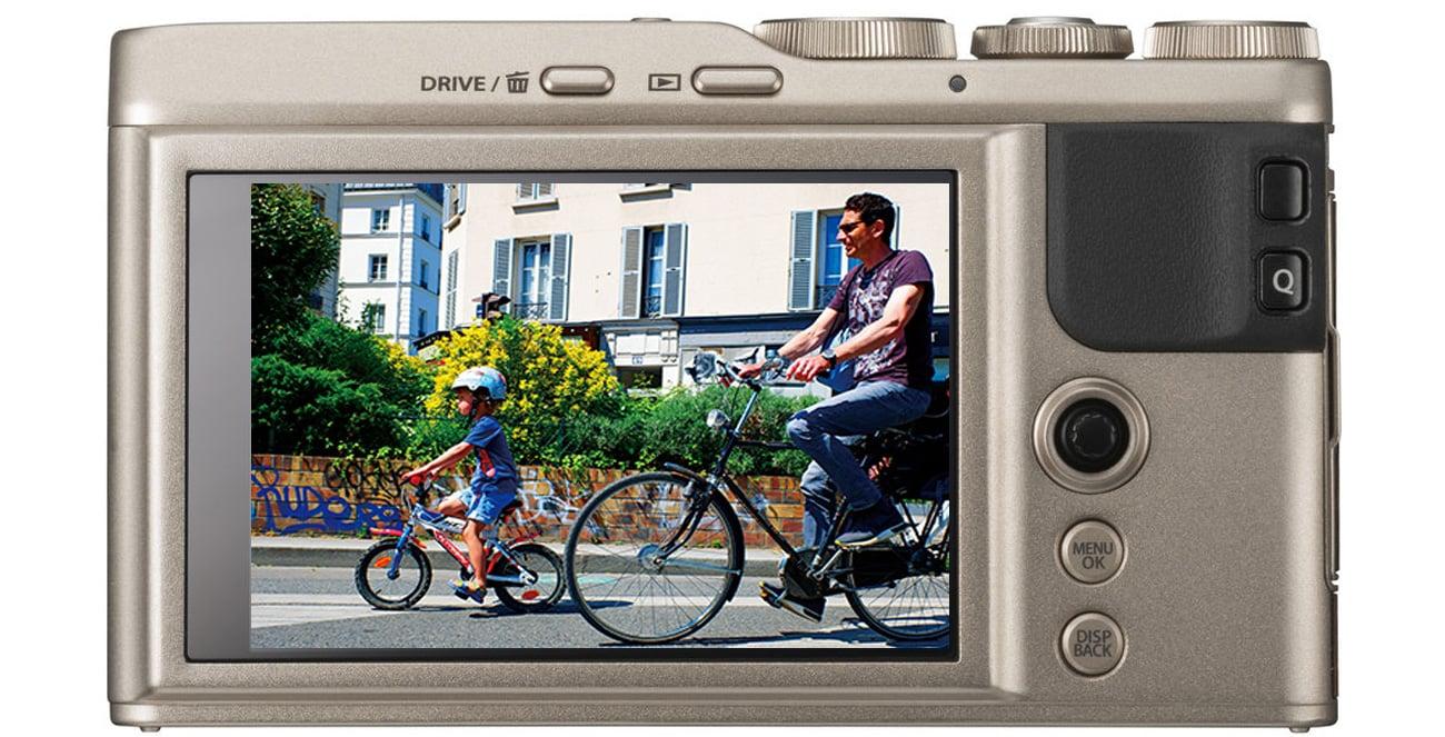 Fujifilm XF10 Wyświetlacz LCD