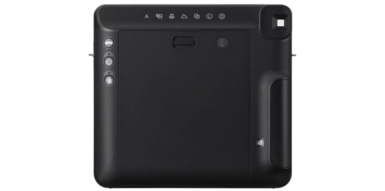 Fujifilm Instax SQ 6 czarno-biały Widok Z Tyłu