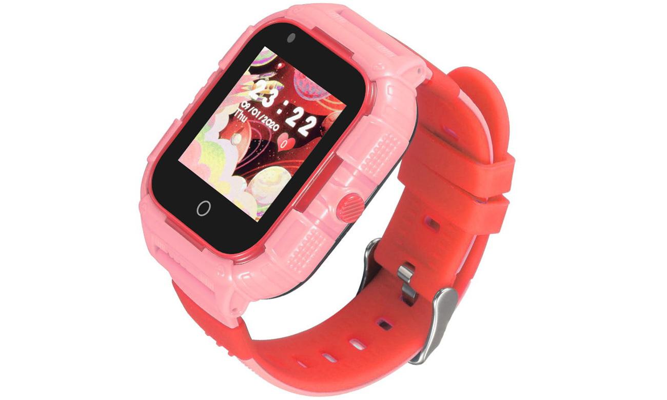 Smartwatch Garett Kids Protect 4G Różowy
