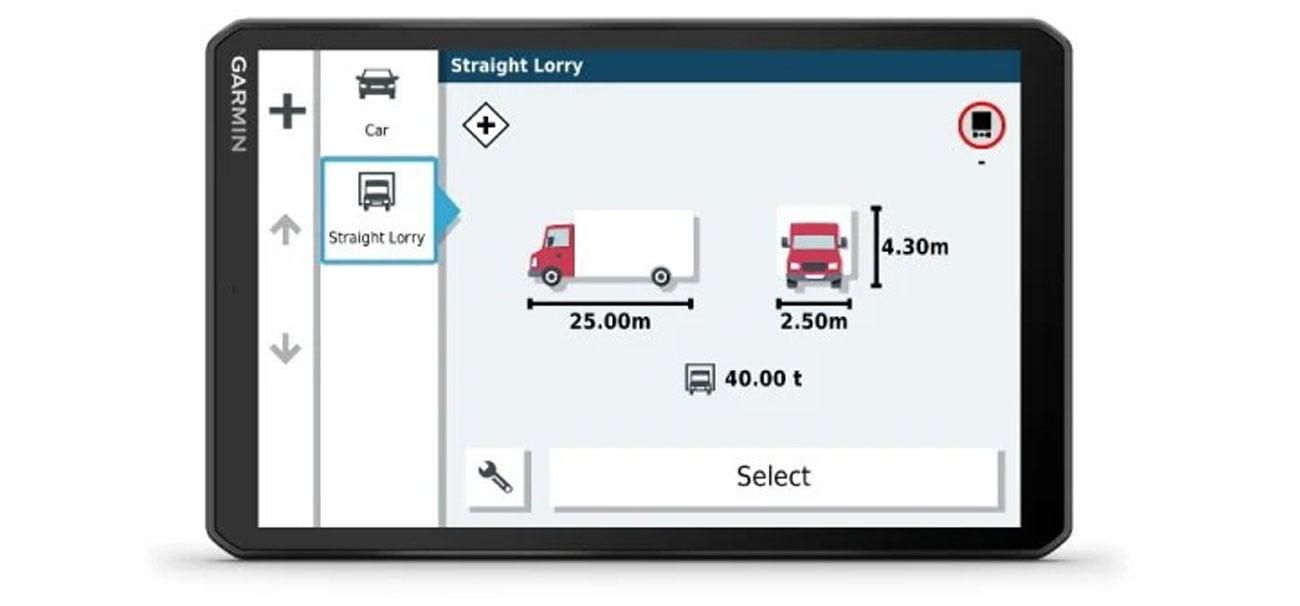 Wyznaczanie tras dla ciężarówek i alerty dla kierowców