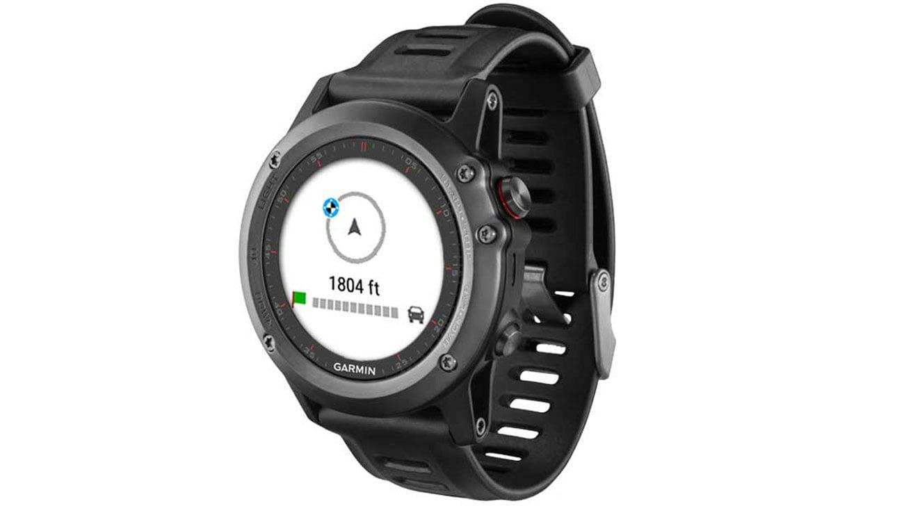 Funkcje nawigacyjne w smartwatchu Garmin