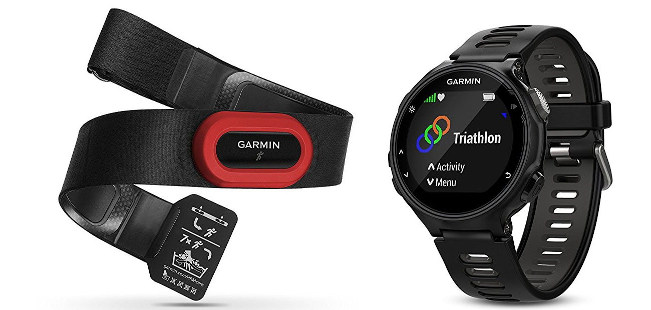Zegarek sportowy Garmin Forerunner 735XT HRM-Run