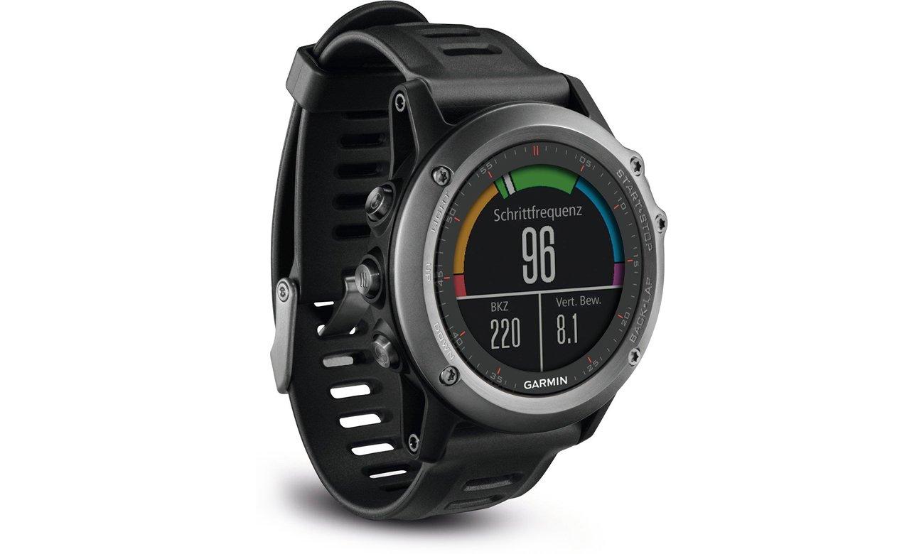 Zegarek sportowy Garmin Fenix 3 szary