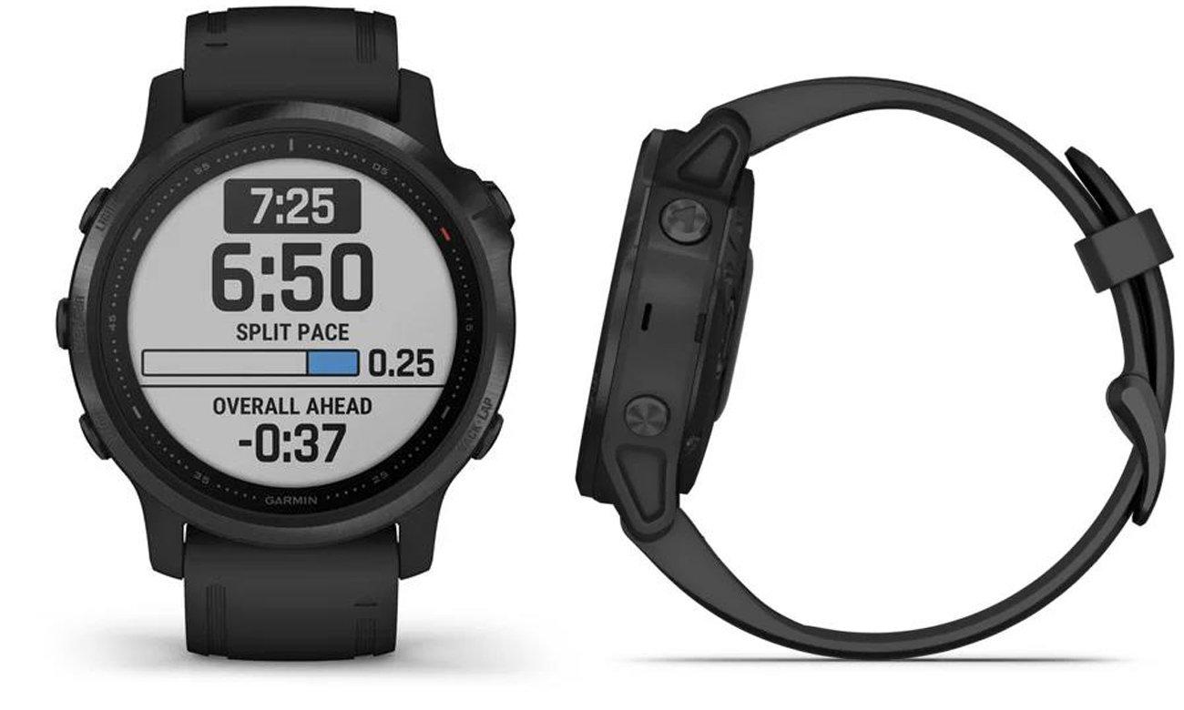 Multisportowy zegarek Garmin Fenix 6S PRO czarny