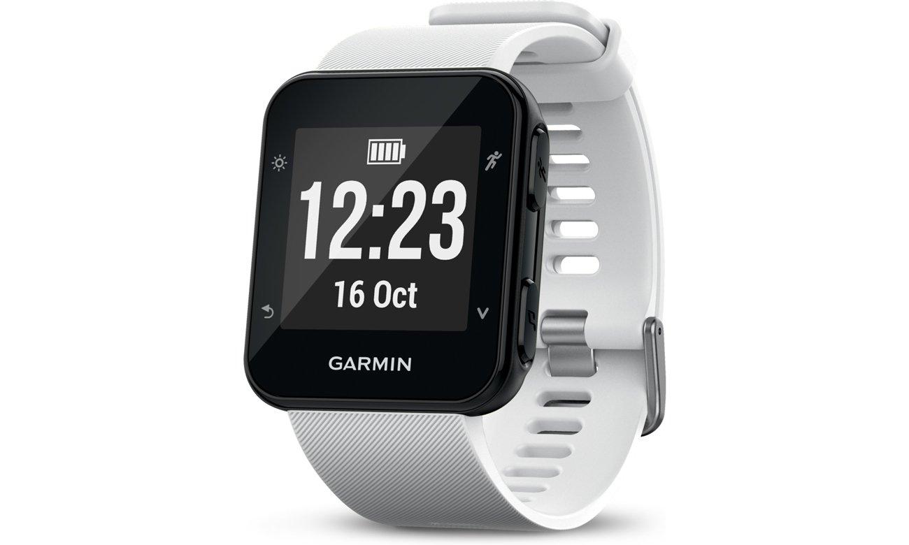 Zegarek sportowy Garmin Forerunner 35 Biały Przód