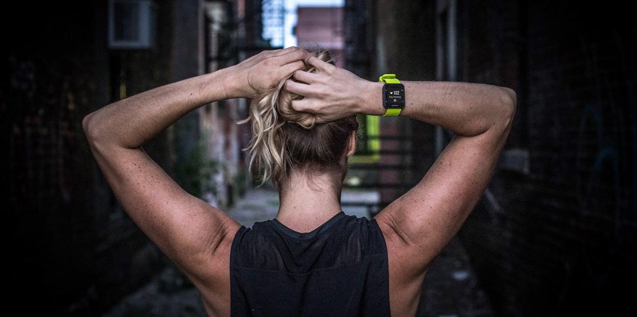 Zegarek sportowy Garmin Forerunner 35 Błękitny Aktywność
