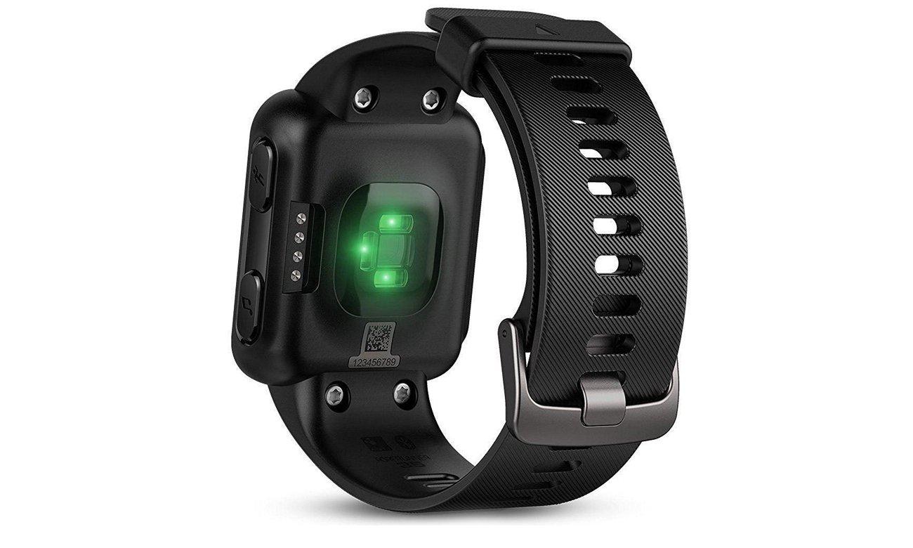 Zegarek sportowy Garmin Forerunner 35 Czarny Tył