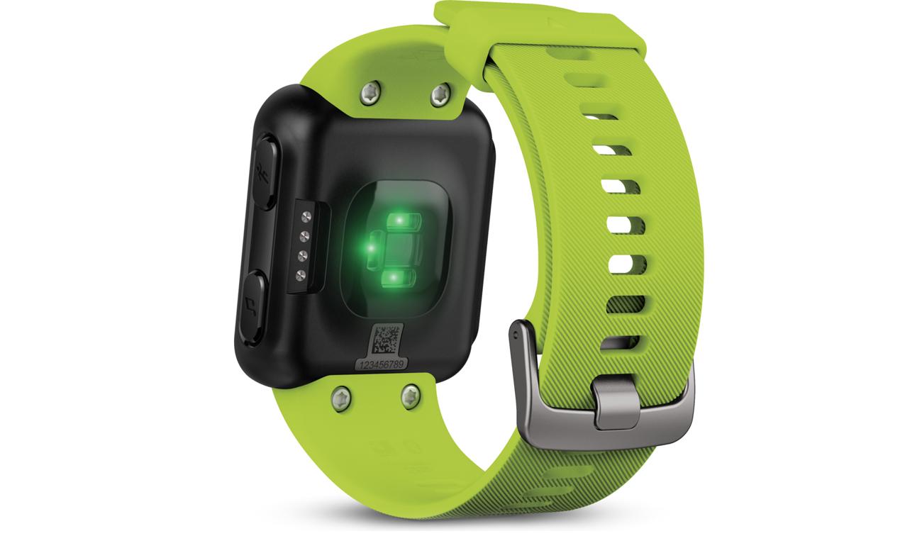 Zegarek sportowy Garmin Forerunner 35 Limonkowy Tył