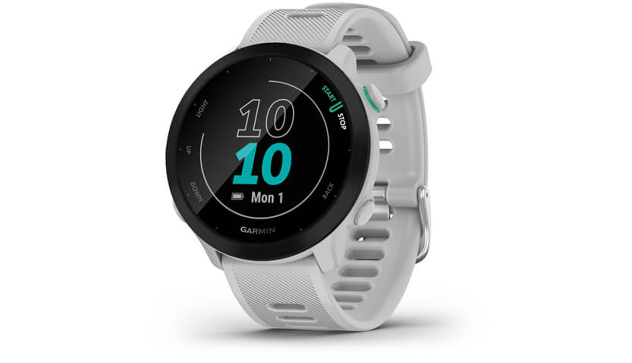 Zegarek sportowy Garmin Forerunner 55 Biały