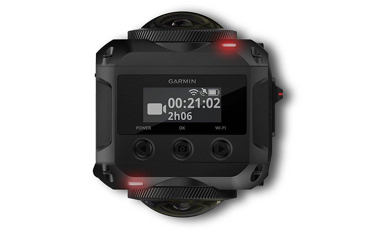 Kamera Garmin VIRB 360 Sterowanie głosowe