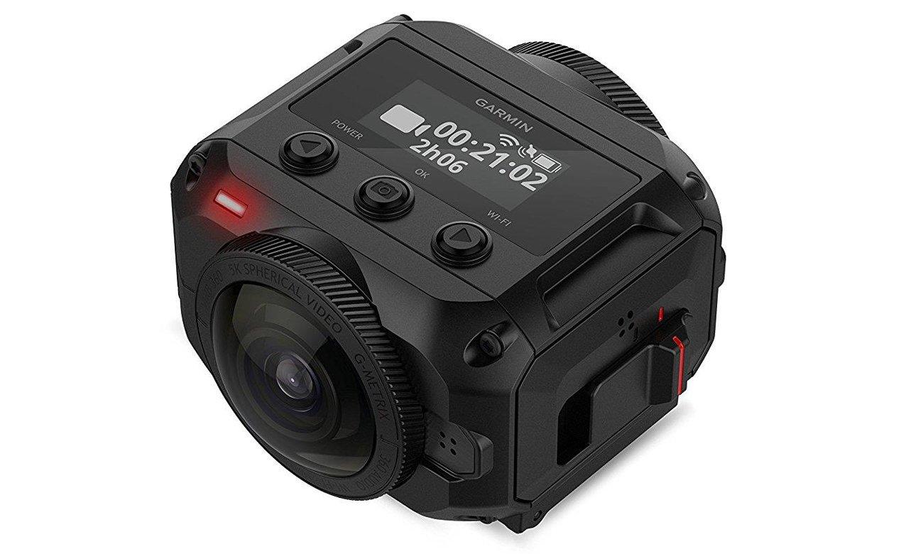 Kamera Garmin VIRB 360 Wbudowany moduł GPS