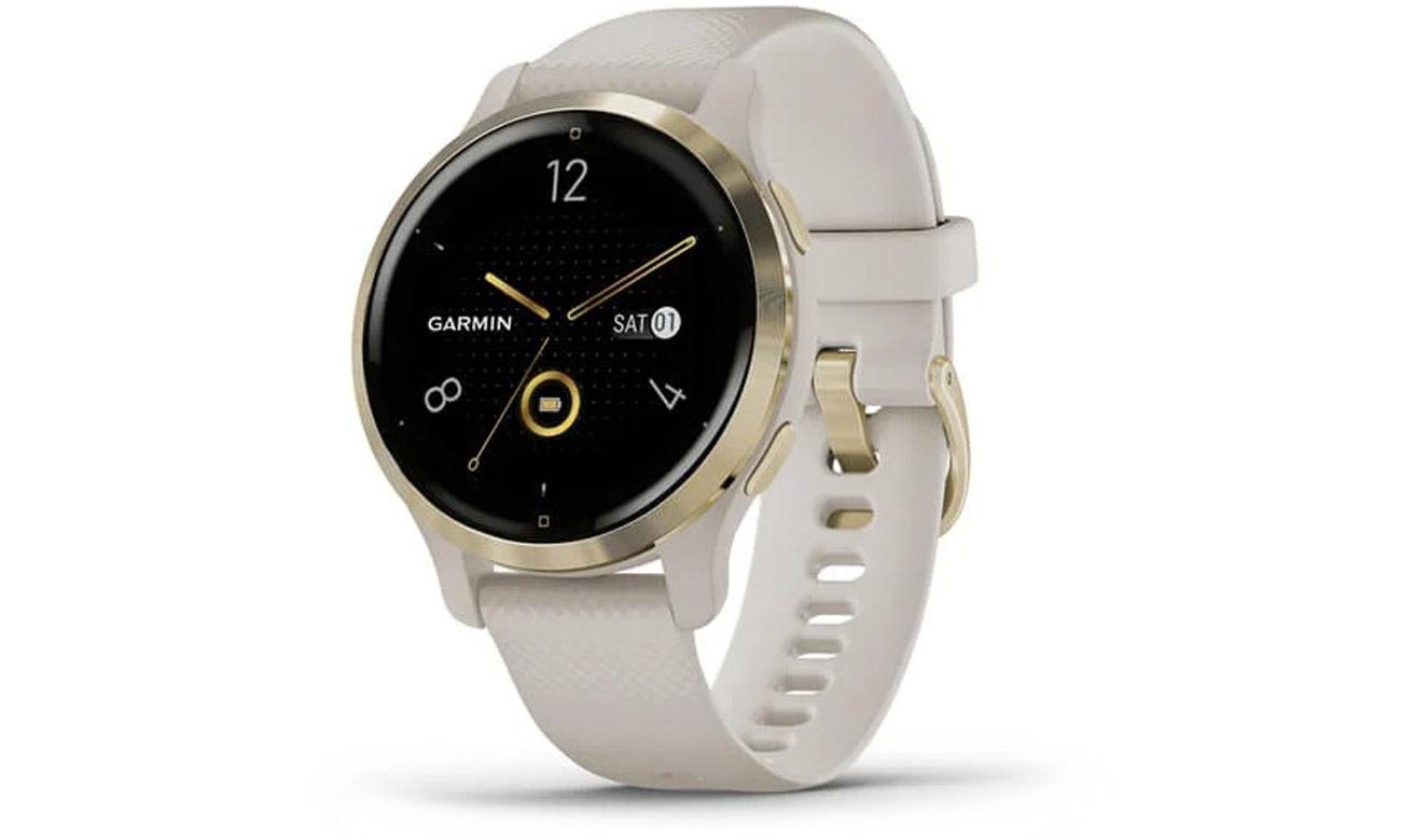 Smartwatch Garmin Venu 2S Jasnozłoty