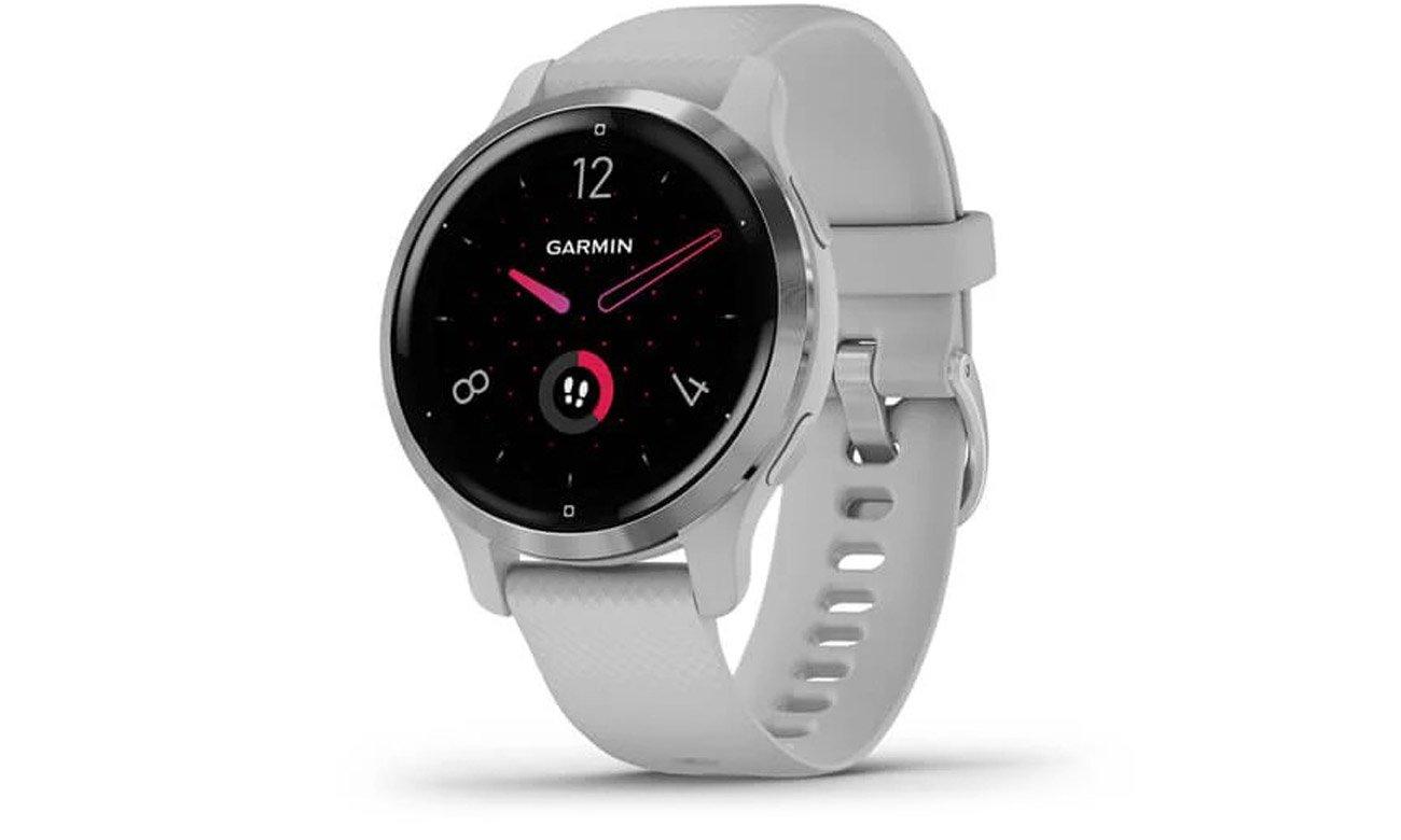 Smartwatch Garmin Venu 2S Srebrny