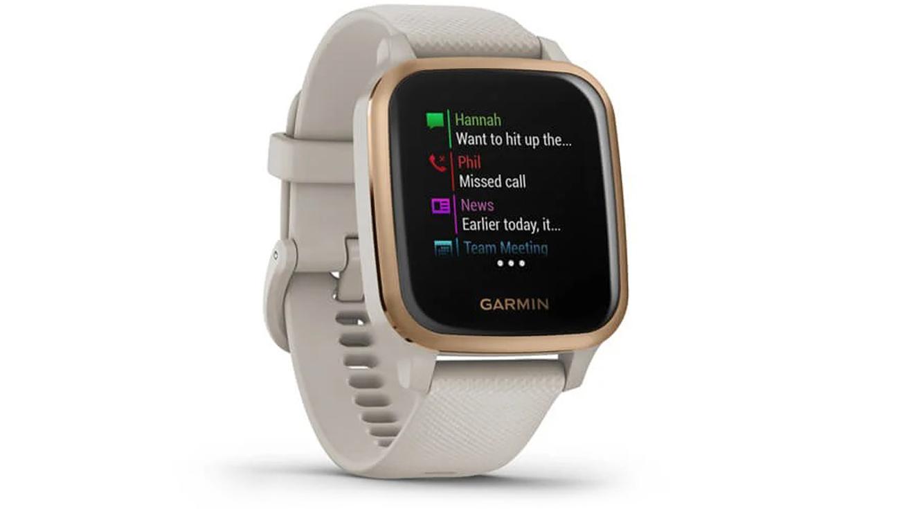 Smartwatch Garmin Venu Sq Music Różowozłoty