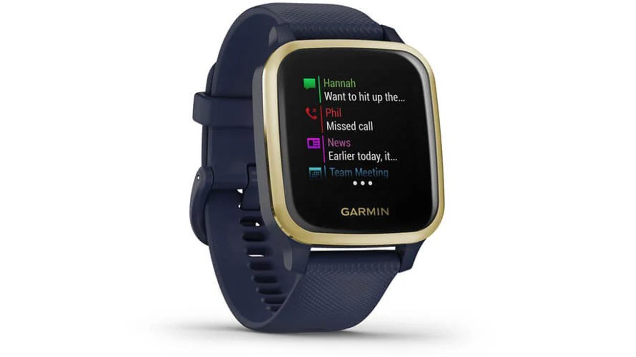 Smartwatch Garmin Venu Sq Music Złoto-granatowy