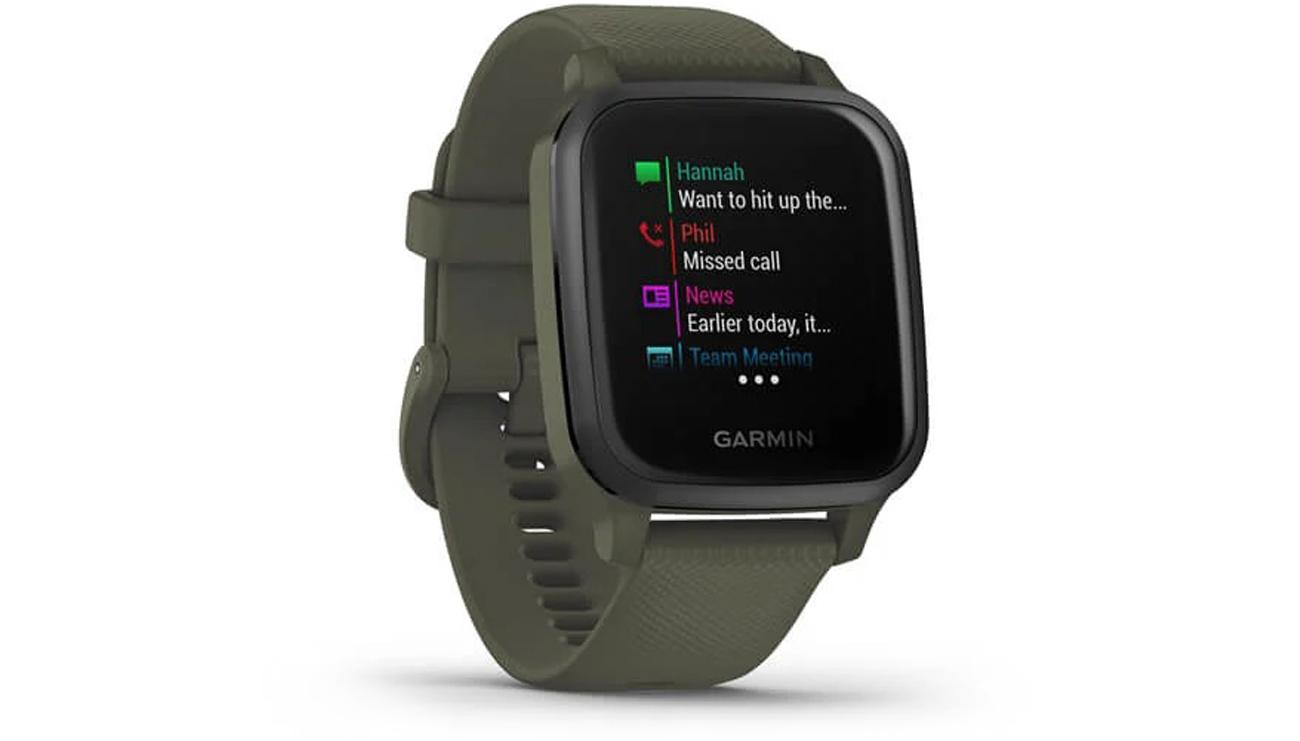 Smartwatch Garmin Venu Sq Music Zielony