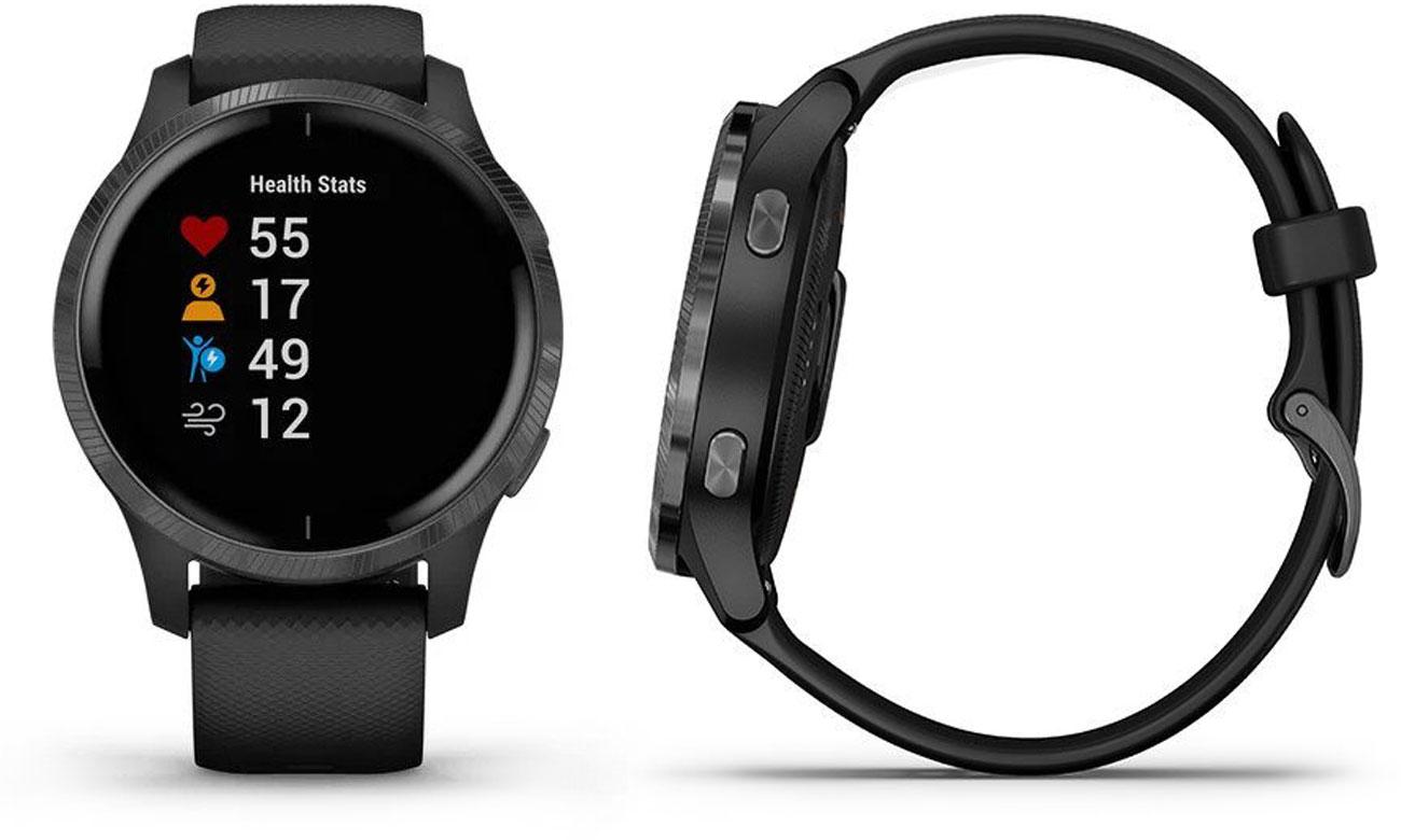 Zegarek sportowy Garmin venu czarno-grafitowy