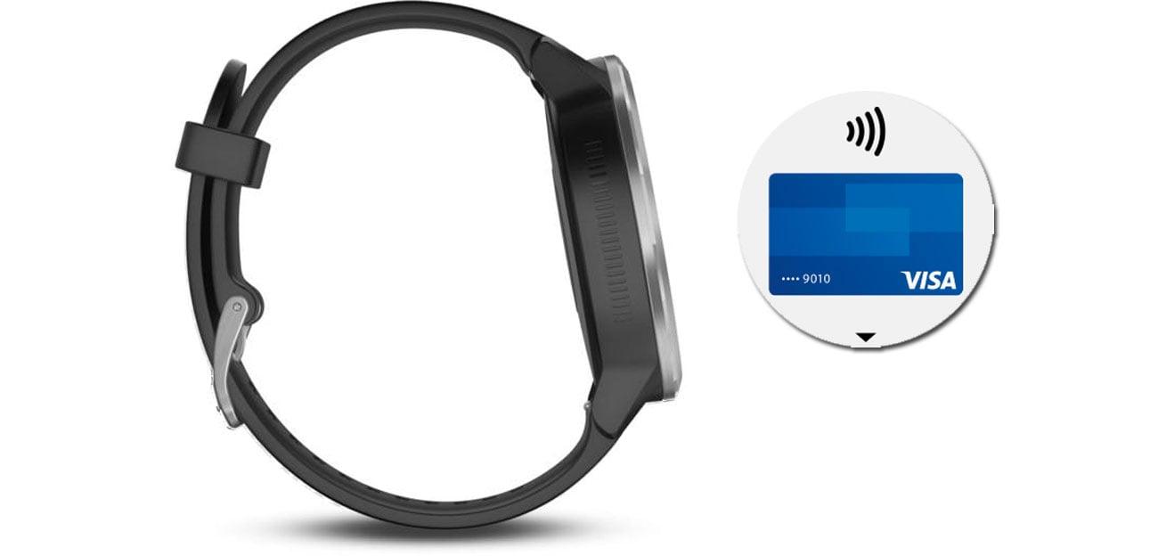 Garmin Vivoactive 3 Płatności zbliżeniowe