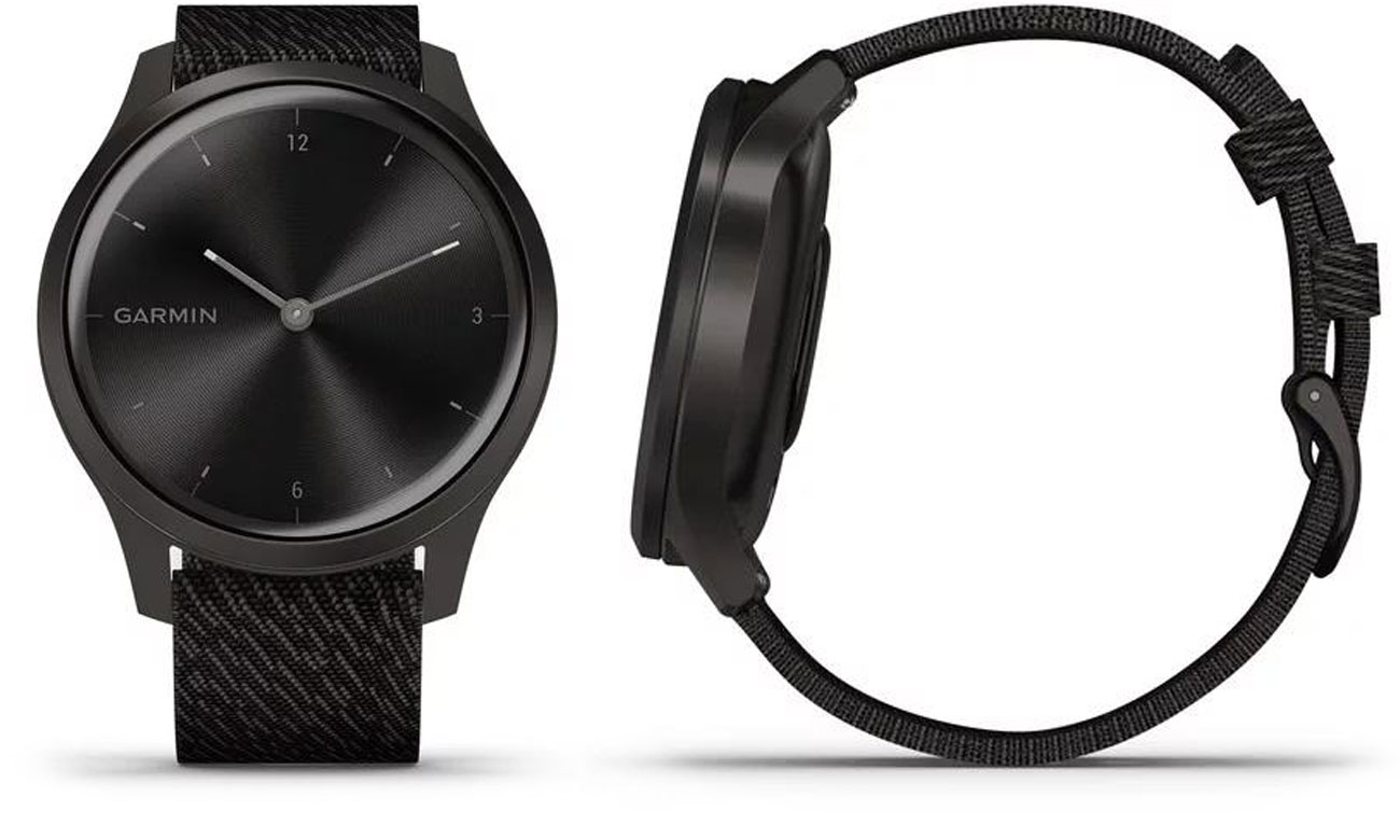 Zegarek hybrydowy Garmin vivomove 3 Style czarny