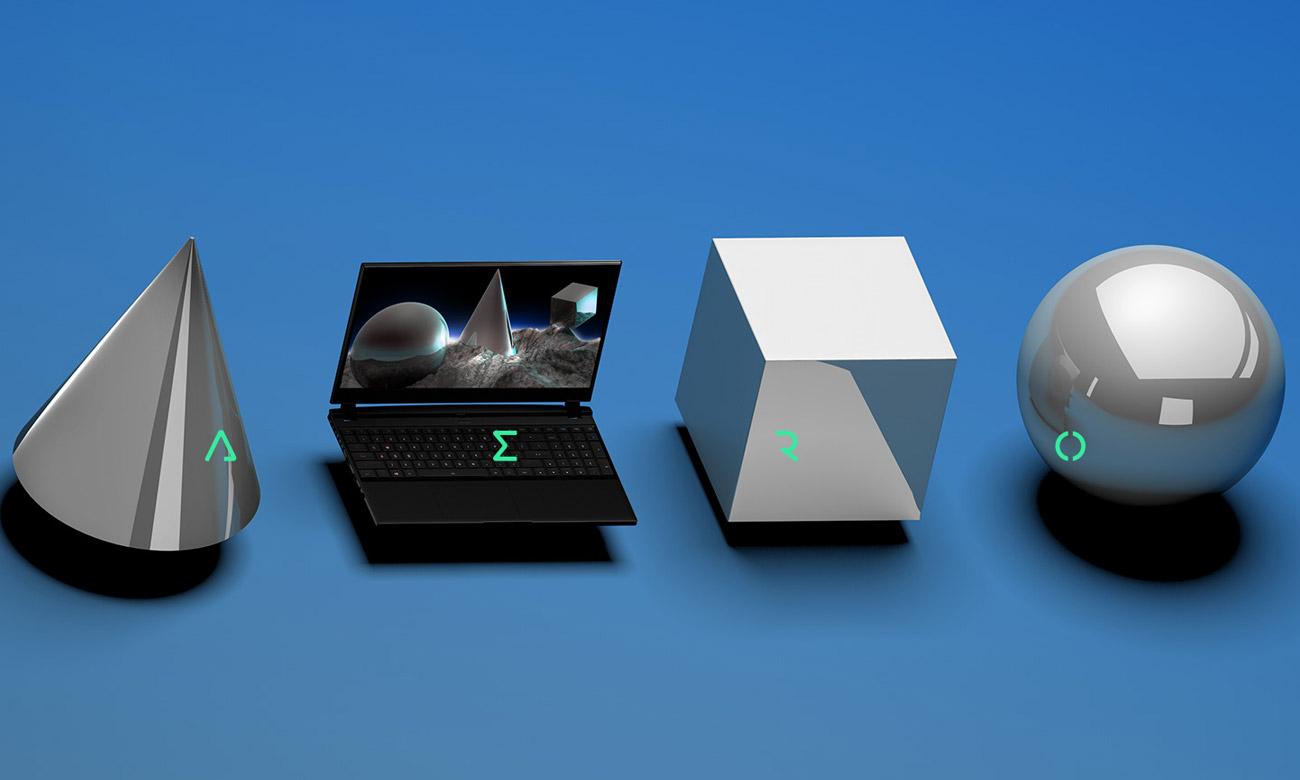 Графический дизайн ноутбука Gigabyte AERO 17 KC