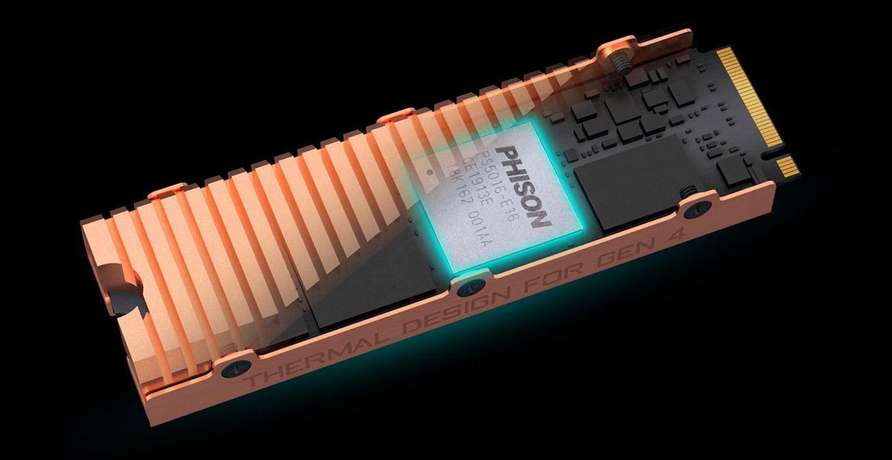 Gigabyte AORUS NVMe - Pamięć 3D NAND TLC Toshiba