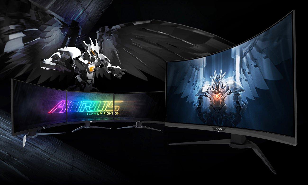 Gigabyte Aorus CV27F - Gamingowy monitore