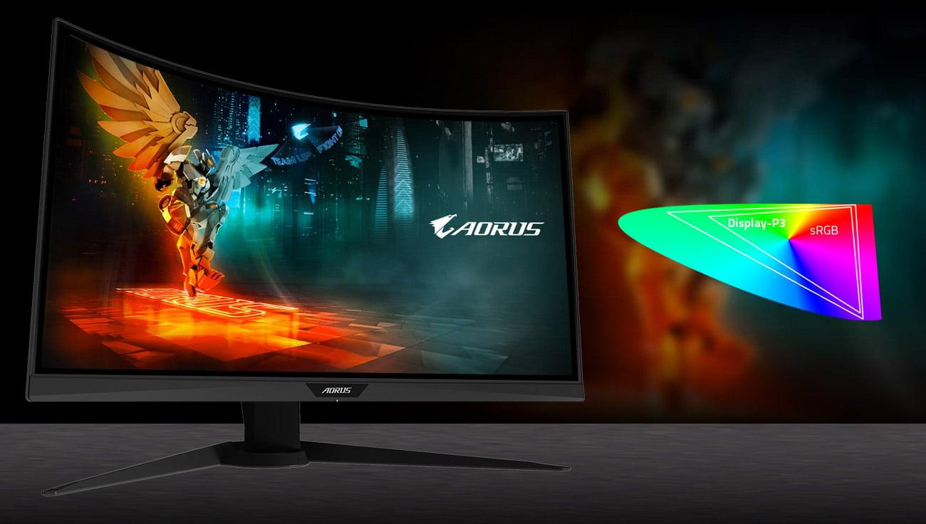 Monitor gamingowy Gigabyte Aorus CV27Q