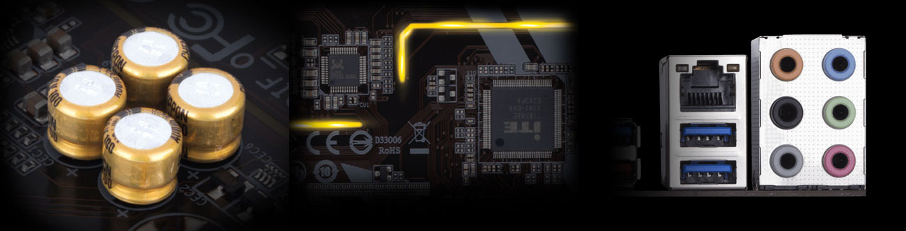 Gigabyte B360 HD3 Audio wysokiej klasy