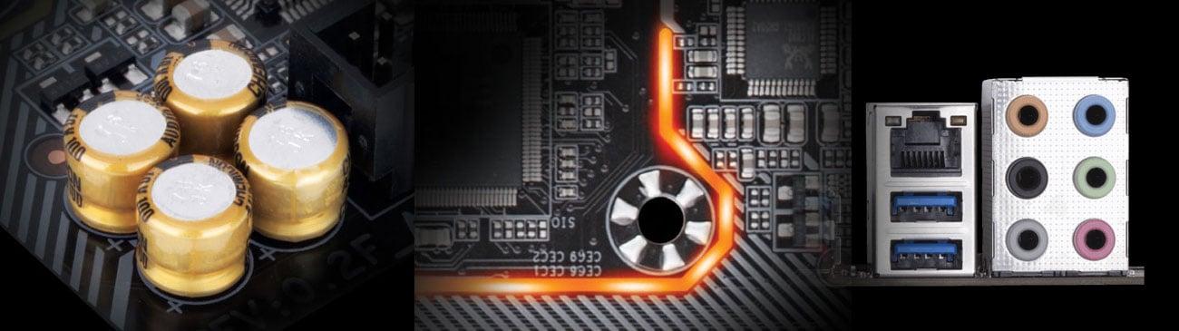 Gigabyte B360M AORUS GAMING 3 Dźwięk audio Realtek ALC892
