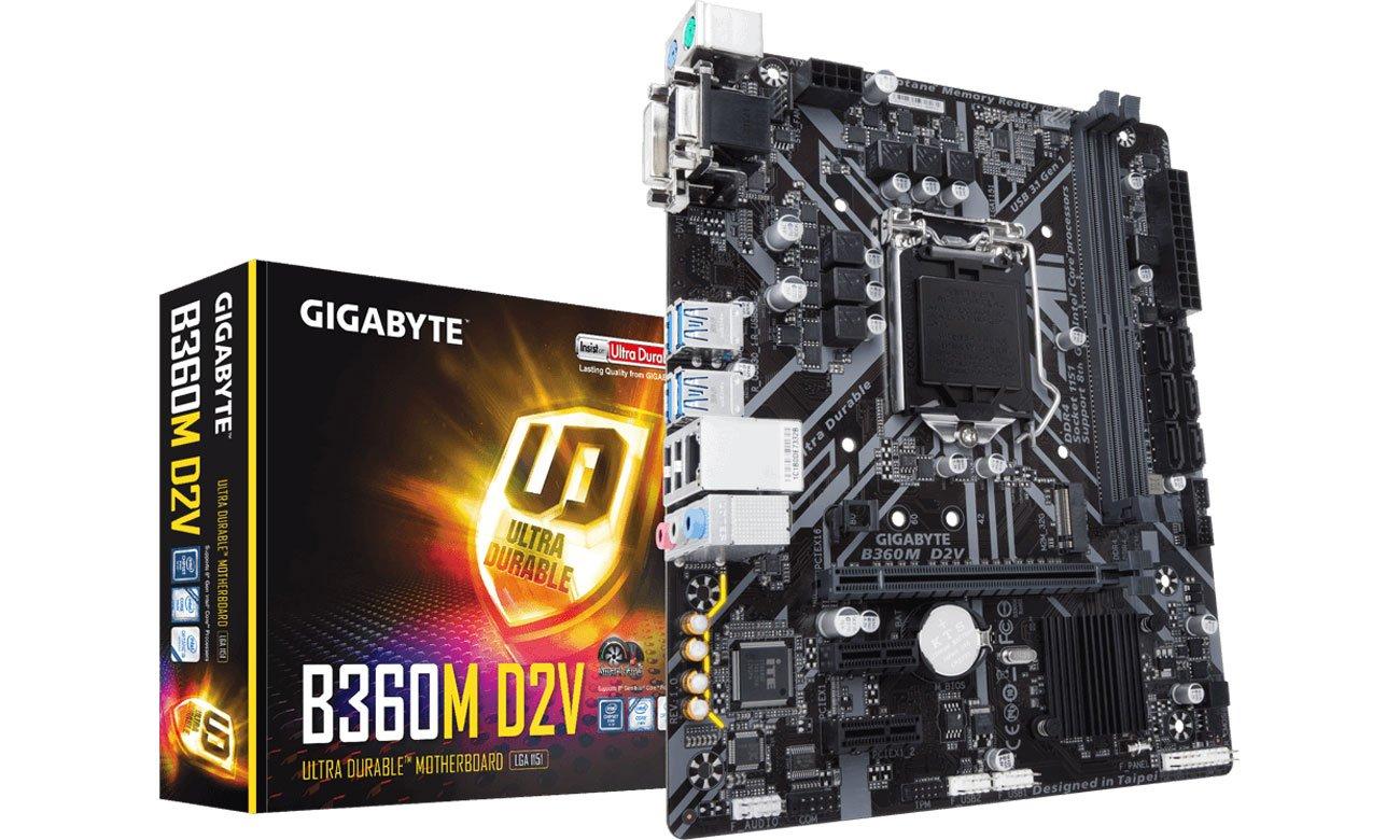 Płyta główna Socket 1151 Gigabyte B360M D2V